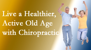 Manchester Chiropractic & Sports Injuries welcomes older patients to incorporate chiropractic into their healthcare plan for pain relief and life's fun.