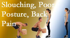 Manchester Chiropractic & Sports Injuries shares slouching prevention advice to improve poor posture and ease related back pain and neck pain.