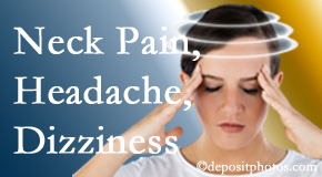 Manchester Chiropractic & Sports Injuries helps relieve neck pain and dizziness and related neck muscle issues.