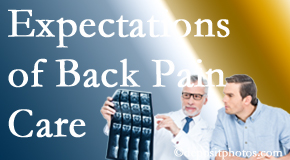 The pain relief expectations of Manchester back pain patients influence their satisfaction with chiropractic care. What is realistic?