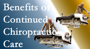 Manchester Chiropractic & Sports Injuries presents continued chiropractic care (aka maintenance care) as it is research-documented as effective.