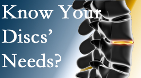 Your Manchester chiropractor knows all about spinal discs and what they need nutritionally. Do you?