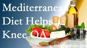 Manchester Chiropractic & Sports Injuries shares recent research about how good a Mediterranean Diet is for knee osteoarthritis as well as quality of life improvement.