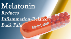 Manchester Chiropractic & Sports Injuries presents new findings that melatonin interrupts the inflammatory process in disc degeneration that causes back pain.