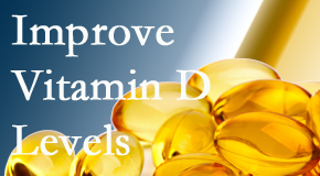 Manchester Chiropractic & Sports Injuries explains that it's beneficial to raise vitamin D levels.