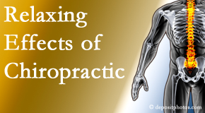 Manchester Chiropractic & Sports Injuries offers spinal manipulation for its calming effects for stress responses.