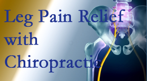 Manchester Chiropractic & Sports Injuries provides relief for sciatic leg pain at its spinal source.