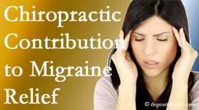 Manchester Chiropractic & Sports Injuries use gentle chiropractic treatment to migraine sufferers with related musculoskeletal tension wanting relief.