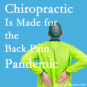 Manchester chiropractic care at Manchester Chiropractic & Sports Injuries is prepared for the pandemic of low back pain.