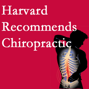 Manchester Chiropractic & Sports Injuries offers chiropractic care like Harvard recommends.