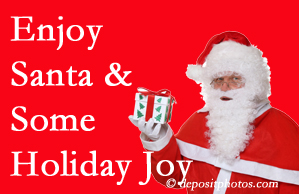 Manchester holiday joy and even fun with Santa are studied as to their potential for preventing divorce and increasing happiness.