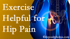 Manchester Chiropractic & Sports Injuries may recommend exercise for hip pain relief along with other chiropractic care options.