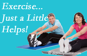 Manchester Chiropractic & Sports Injuries encourages exercise for improved physical health as well as reduced cervical and lumbar pain.