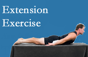 Manchester Chiropractic & Sports Injuries recommends extensor strengthening exercises when back pain patients are ready for them.