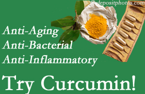 Pain-relieving curcumin may be a good addition to the Manchester chiropractic treatment plan.