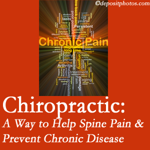 Manchester Chiropractic & Sports Injuries helps relieve musculoskeletal pain which helps prevent chronic disease.